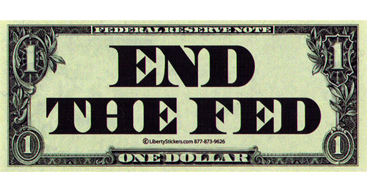 end the federal reserve End the fed [ron paul] on amazoncom free shipping on qualifying offers in the post-meltdown world, it is irresponsible, ineffective, and ultimately useless to have a serious economic debate without considering and challenging the role of the federal reserve.